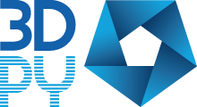 3d Print Yorkshire alternative compact logo